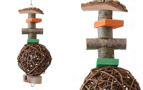 Papageien Spielkette 35x12cm