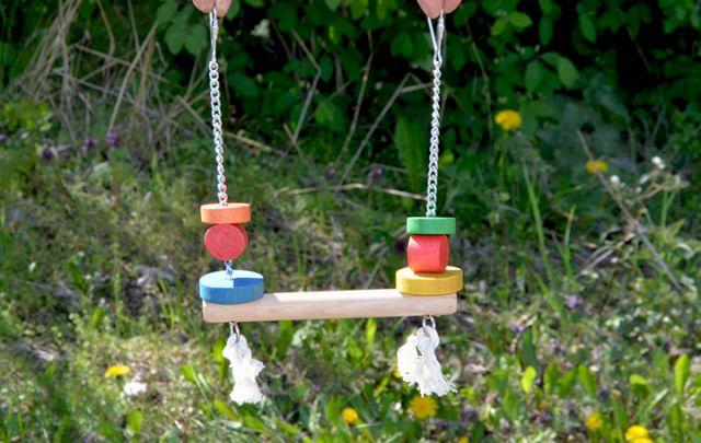 Vogelspielzeug 615 - Schaukel -