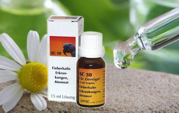 SC50 Fieberhafte Erkrankungen/ Atemnot 15ml