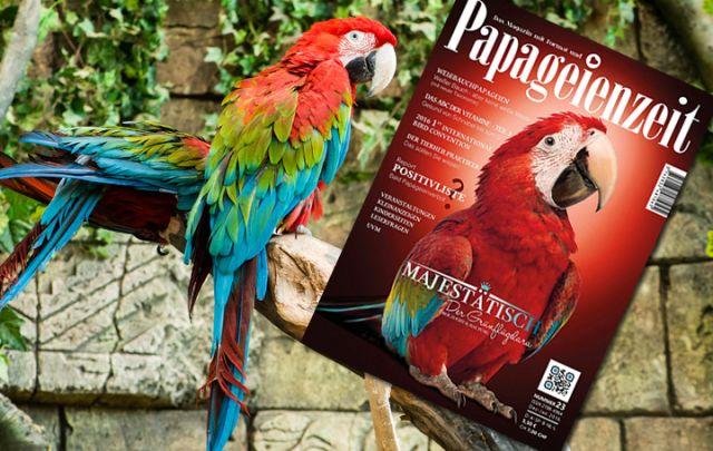 Papageienzeit Nr. 23 Dezember-Januar 2016