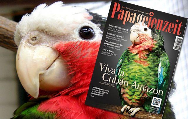 Papageienzeit Nr. 21 August/ September 2015