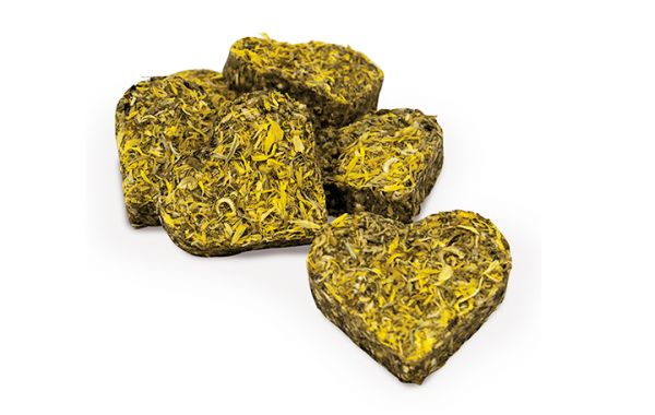 JR Grainless Ringelblumen Herzchen 7 Stück = 105 g