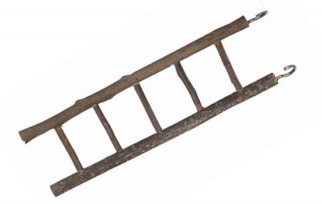 Holz Leiter, 5-sprossig ca. 26 cm